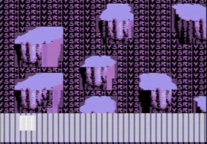 Commodore 64 3D Engine Includes Parallax Scrolling