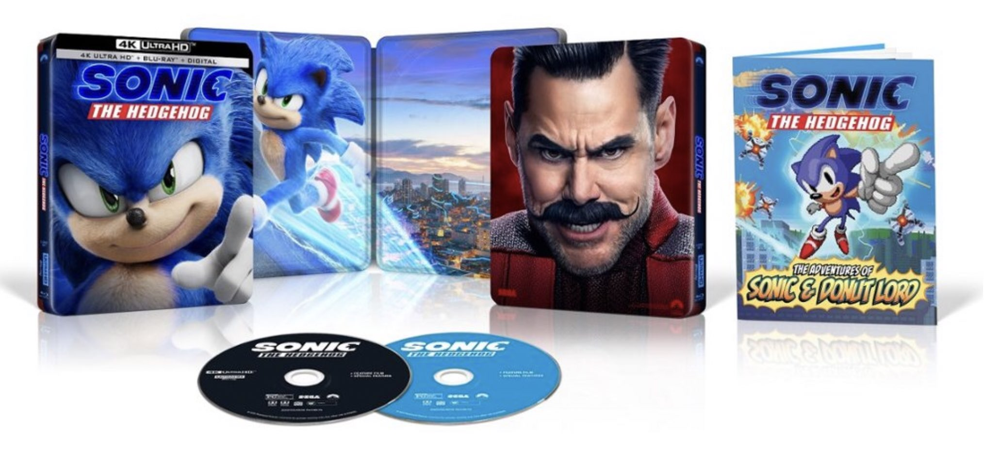 Sonic The Hedgehog Movie Gets Dvd And Blu Ray Release Date Reviews Interviews Articles Product Reviews And More